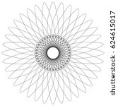 Abstract Spiral  Guilloche Lik...