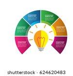 timeline info graphics design...   Shutterstock .eps vector #624620483