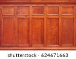 Brown Wooden Background In A...