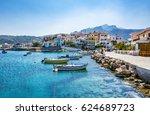 samos island  greece  ... | Shutterstock . vector #624689723