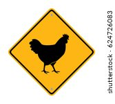 Chicken Sign. Symbol ...