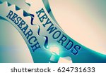 keywords research  ... | Shutterstock . vector #624731633