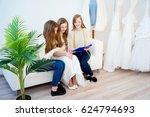 bride planning her wedding   Shutterstock . vector #624794693