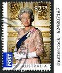 australia   circa 2015  a used... | Shutterstock . vector #624807167