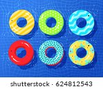 top view vector collection of... | Shutterstock .eps vector #624812543