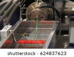 plastic wire filament  the... | Shutterstock . vector #624837623