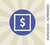 dollar icon. sign design....