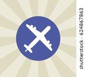 plane icon. sign design....