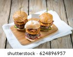 Small Beef Sliders Grilled...