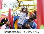 Stock photo exercise activity family outdoors vitality healthy 624977717