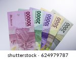 new rupiah money   indonesia... | Shutterstock . vector #624979787