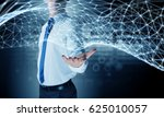 network and future technology . ... | Shutterstock . vector #625010057