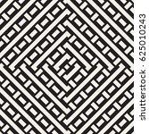 interlacing lines maze lattice. ... | Shutterstock .eps vector #625010243