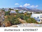 landscape of apollonia sifnos... | Shutterstock . vector #625058657
