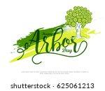 illustration of arbor day... | Shutterstock .eps vector #625061213