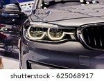 close up of car headlights ...   Shutterstock . vector #625068917