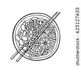 vector illustration of hand... | Shutterstock .eps vector #625127633