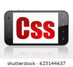 programming concept  smartphone ... | Shutterstock . vector #625144637