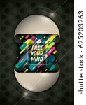 modern background  with design... | Shutterstock .eps vector #625203263