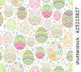 seamless background happy... | Shutterstock .eps vector #625215827