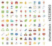 ecology icons | Shutterstock .eps vector #625230803