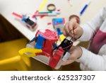 construction of children's...   Shutterstock . vector #625237307