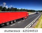 trucks transportation | Shutterstock . vector #625244513
