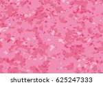 pink camouflage pattern | Shutterstock .eps vector #625247333