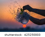 a water balloon bursting... | Shutterstock . vector #625250003