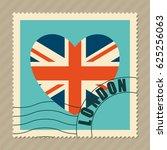 london heart icon | Shutterstock .eps vector #625256063