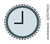 wall clock icon image  | Shutterstock .eps vector #625270613
