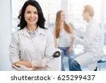 happy young patient having...   Shutterstock . vector #625299437