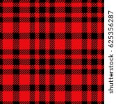 red plaid seamless pattern | Shutterstock .eps vector #625356287