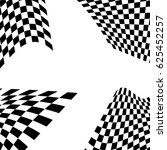 checkered flag. racing flag... | Shutterstock .eps vector #625452257