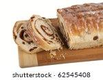 homemade rolled cinnamon raisin ... | Shutterstock . vector #62545408