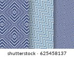 set of 3 abstract patterns.... | Shutterstock .eps vector #625458137
