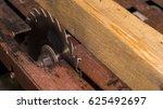 industrial circular saw | Shutterstock . vector #625492697