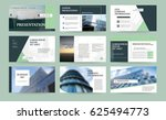 original green presentation... | Shutterstock .eps vector #625494773