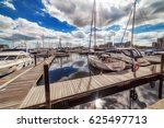 ipswich marina waterfront on a...