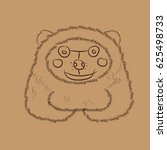abstract vector illustration of ... | Shutterstock .eps vector #625498733