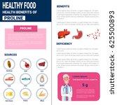 healthy food infographics... | Shutterstock .eps vector #625500893