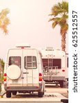 motorhome campground on south... | Shutterstock . vector #625512557