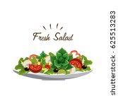 Delicious Fresh Vegetable Salad
