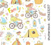 seamless pattern with cute...   Shutterstock . vector #625623257