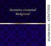 luxury colored ornamental... | Shutterstock .eps vector #625671503