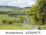 Valley Of The River Tweed With...