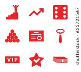success icons set. set of 9...   Shutterstock .eps vector #625721567
