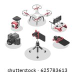 vector illustration with quad... | Shutterstock .eps vector #625783613