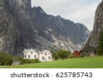 Small Houses In The Romsdal...