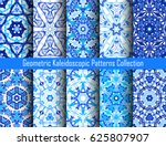 blue backgrounds. geometric... | Shutterstock .eps vector #625807907